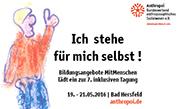 Tagungsbericht: Ich-Kompetenz entwickeln!