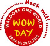 Mach mit beim WOW-Day