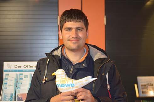 Fliegender Reporter mit Handicap gewinnt Radio-Preis