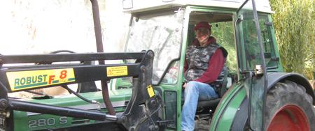 Markus als Landwirt 2