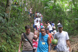 Exkursion in den Regenwald Brasilien 2009